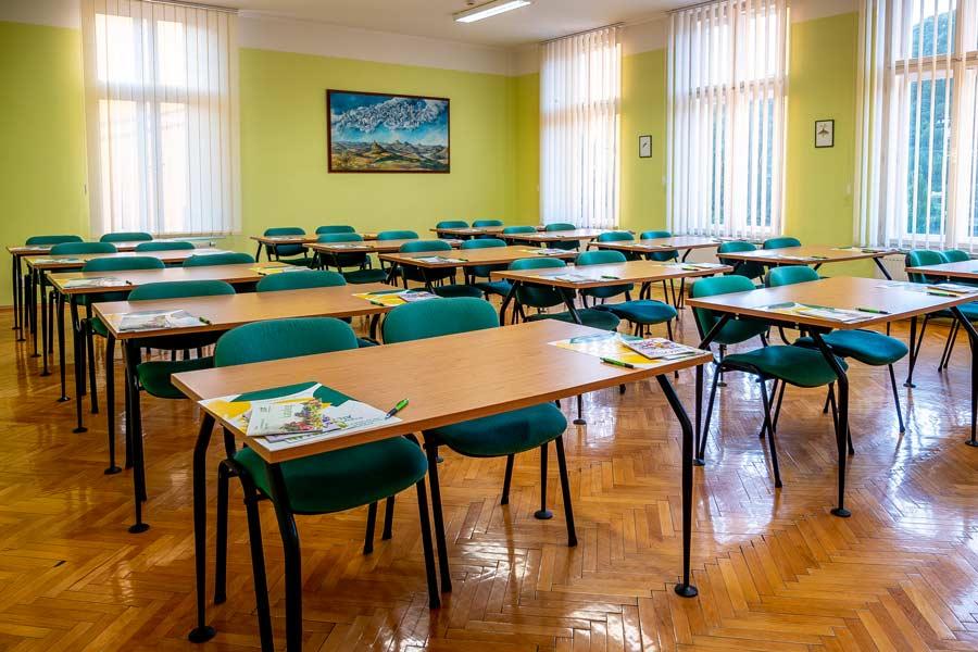 prostor multifunkční sál učebna